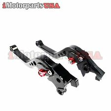1998-2003 SUZUKI TL1000R SHORT BRAKE CLUTCH LEVERS SET ANODIZED ADJUSTABLE NEW
