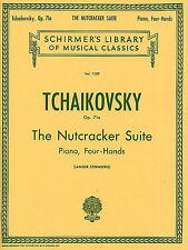 Tchaikovsky The Nutcracker Suite Op.71a Piano Duet Learn to Play Music Book