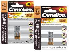 3X2X Camelion Akku AAA 1100 mAh 1,2V Wiederaufladbare für Siemens Gigaset S79H M