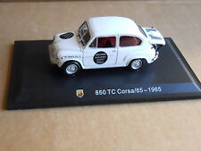 Leo Models CAR DIE CAST ABARTH 1:43 NEW - FIAT 850 TC CORSA /65 1965  [MV-1 ]