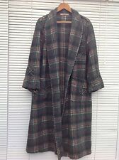 Vintage Wool Dressing Gown