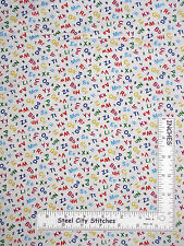 School Teacher Fabric - Alphabet Number Classroom #472 Elizabeths Studio - Yard