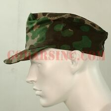 WWII German Elite Plane Tree 3/4 Camo Reversible Field Cap Size 60