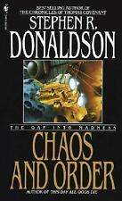 Chaos and Order: The Gap Into Madness (The Gap Cycle) Donaldson, Stephen R. Mas