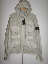 STONE ISLAND MUSSOLA GOMMATA MULTI POCKET CASUALS XL SHORTER VERSION GREY