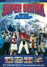 Super Sentai: Zyuranger The Complete Series 10-Disc DVD - Ships in 12 hours!!!
