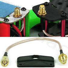 FPV Antennenkabel 5,8 GHz, mit Befestigungsplatte -kein Bohren nötig! ZMR250 QAV