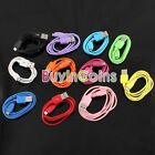 1/4/10 Pcs Colorful 1m 3ft Micro USB Data Charger Charging Cable V8 for Phone