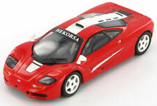 McLaren F1 GTR (Red with White Flashes) 1:43