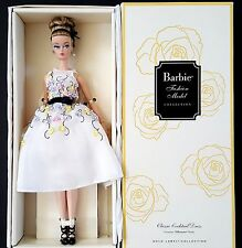 2016 Classic Cocktail Dress Poseable Silkstone Barbie Doll Gold Label NRFB Adult
