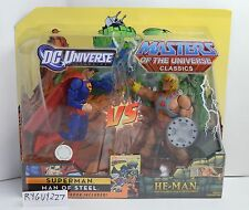 MOTUC, He-Man vs Superman, DC Universe, MOC, figures, MISB