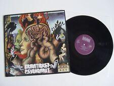 BRAINTICKET - PSYCHONAUT LP Vinyl VG++ BELLAPHON BL 15156 RARE KRAUTROCK Scheibe