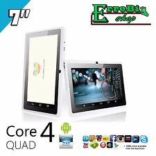 QUAD CORE TABLET PC ALLWINNER A33 ANDROID 4.4 7 INCH 8GB 1.3GHz 3000mAh WIFI HDX