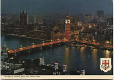 Alte Postkarte - London - The Houses of Parliament and the River Themse