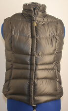 Eddie Bauer Women's Quilted Packable Full Zip Goose Down Vest (Black) Small