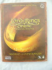 BOOK LORD OF THE RINGS ONLINE VOL 2 SHADOWS OF ANGMAR OFFICIAL GAME GUIDE