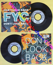 LP 45 7'' FYC FINE YOUNG CANNIBALS Don't look back You never know no cd mc dvd *