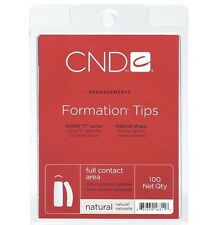 Creative Nail Design Natural Formation Tips - 100ct - CND