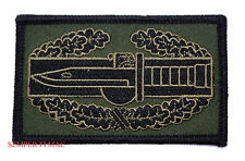 US ARMY COMBAT ACTION BADGE COLLECTORS PATCH CAB M9 BAYONET M67 GRENADE PIN UP