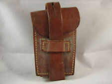 1909 Pre WWI Argentina Mauser Ammo Pouch Heavy Brown Leather