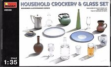 MiniArt Milk Household Crockery and Glass Set in 1/35  35559 ST