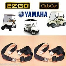 Universal Golf Cart Seat Belt / Lap Belt (2) Seat Belts