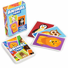 ANIMAL PAIRS CARD GAME CHILDS BOYS GIRLS TOY GIFT BIRTHDAY  PARTY BAG FAVOR LOOT