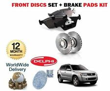 FOR SUZUKI GRAND VITARA 1.9DT DDIS 2005--  NEW FRONT BRAKE DISCS + DISC PADS SET