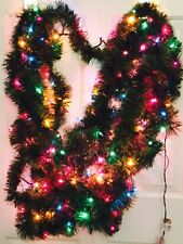 50 Ft Pine Pre Lit Lighted 225 Multi Color Lights Soft Christmas Garland