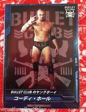 New Japan Pro-Wrestling Trading Card Cody Hall NJPW Bullet Club Scott