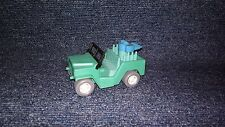 Vintage Soviet Russian USSR plastic Jeep car toy 1:43 scale