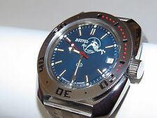 Man's Fashion VOSTOK Russian military Amphibian diver 200m. auto watch VA 710059