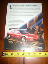 1993 MAZDA MX6 LS - ORIGINAL AD