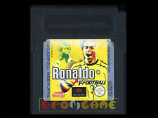 RONALDO V-FOOTBALL Gameboy Color Versione Europea ••••• SOLO CARTUCCIA