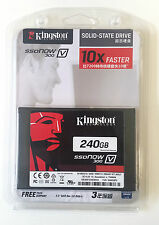 NUOVO KINGSTON 240gb SSD v300 SSDNow allo stato solido SATA Hard Drive 3 6gb/sec 2.5 pollici