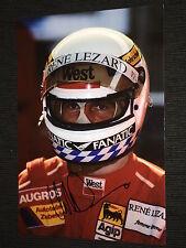 Christian Danner f1 firmato signed autograph autografo foto 20x30 * TOP *