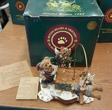 The Flying Lesson This End Up Boyds Bears and Friends Music Box 227801