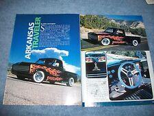 """1967 Chevy C10 Stepside Custom Article """"Arkansas Traveler"""" C/10"""