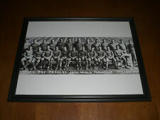 1930 GREEN BAY PACKERS WORLD CHAMPIONS FRAMED TEAM PRINT