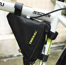 New Waterproof Triangle Bag Pipe Pouch Carrier Bicycle Bike Pannier Front Tube