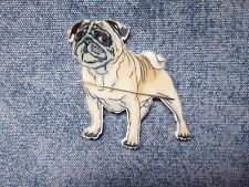 SPECIAL OFFER Pug Dog Needle Minder Neodymium Only Cross Stitch
