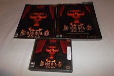 Diablo II Bundle (PC, 2000) Includes Manual, 3 Discs, & Ultimate Strategy Guide