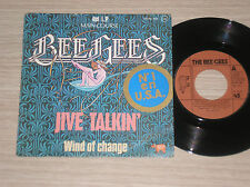 "BEE GEES - JIVE TALKIN' / WIND OF CHANGE - 45 GIRI 7"" SPAIN"