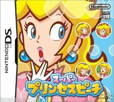 Used DS Super Princess Peach NINTENDO JAPANESE IMPORT