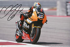 Colin Edwards Hand Signed NGM Forward Racing Yamaha 12x8 Photo 2014 MotoGP 2.