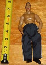 WWF WWE Jakks The Rock Dwayne Johnson Wrestling Figure TTL Finishing Moves