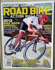 Road Bike Action Magazine Jan 2012 - Editor's Choice Product Review