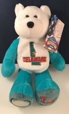 Delaware  LIMITED TREASURES QUARTER COIN BEAR -2000 Quarter Attached to Foot
