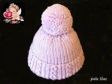 Hand Knitted Baby Bobble Hat