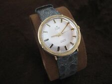 Vintage Men's Wristwatch STOWA 17 Jewels Incabloc Solid Gold 14K Swiss Made